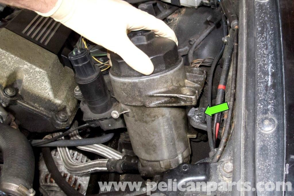 Замена моторного масла на BMW 5 Серии E39