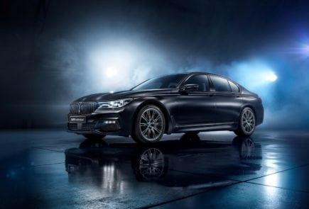 BMW 7 Black Ice Edition — специально для России!
