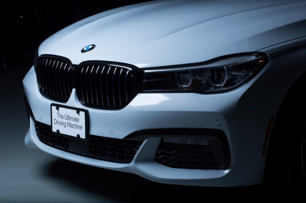 BMW 740e xDrive iPerformance M Performance Parts SEMA 2017