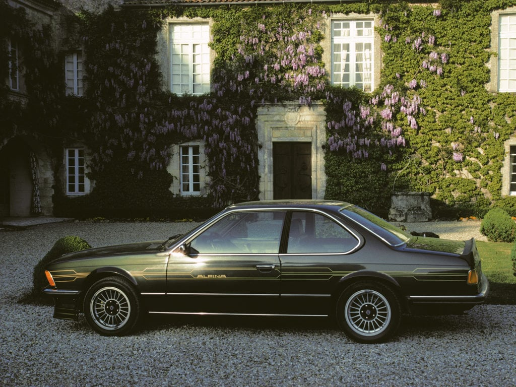 BMW Alpina B7 S Turbo Coupe 5/1982 - 9/1982