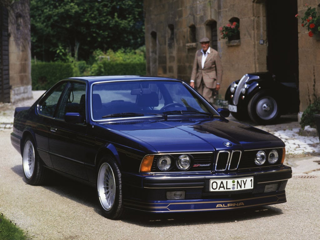 BMW Alpina B7 Turbo/1 10/1986 - 6/1988
