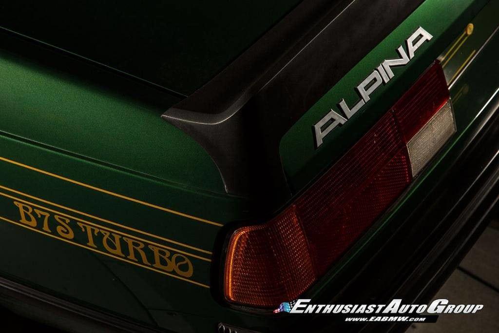 Изумительная Alpina B7 S Turbo Coupe 1982 года на базе BMW 6 E24