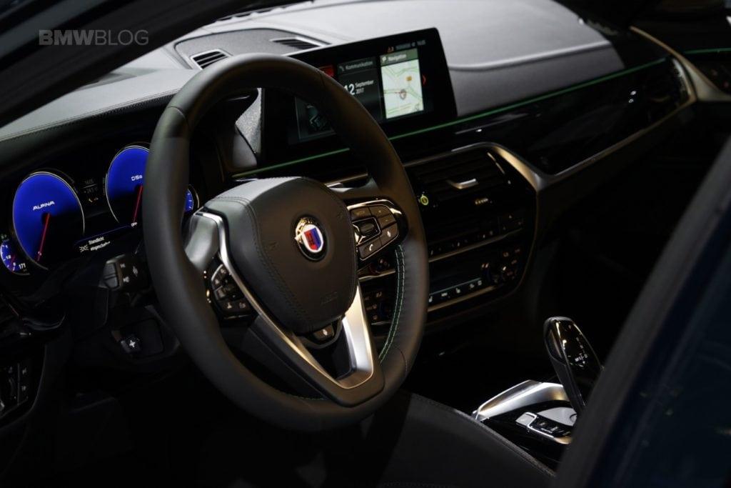 BMW Alpina D5 с двигателем Triturbo на IAA 2017