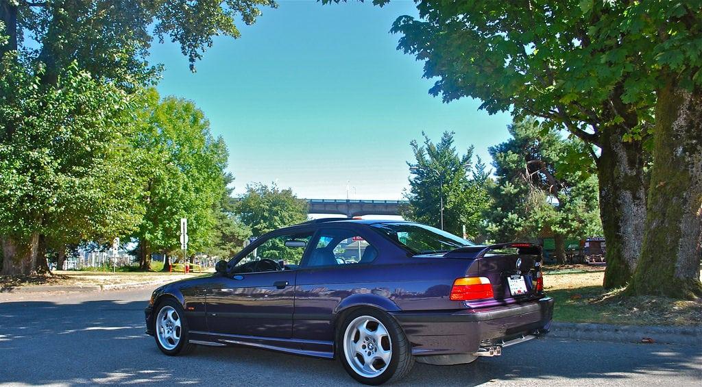 BMW E36 Techno Violet Purple