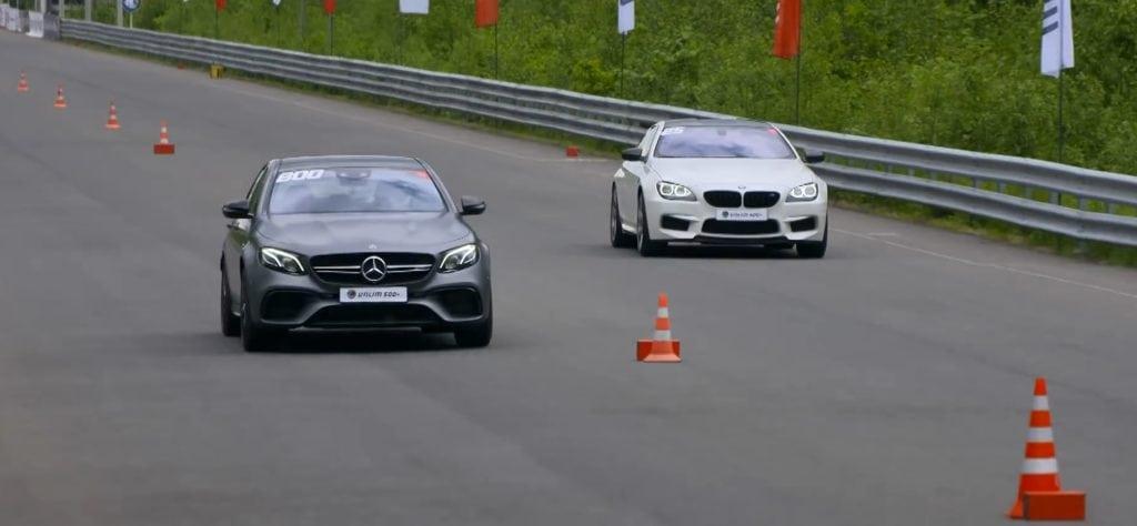 Видео: 750-сильный M6 покажет зачем эмкам полный привод