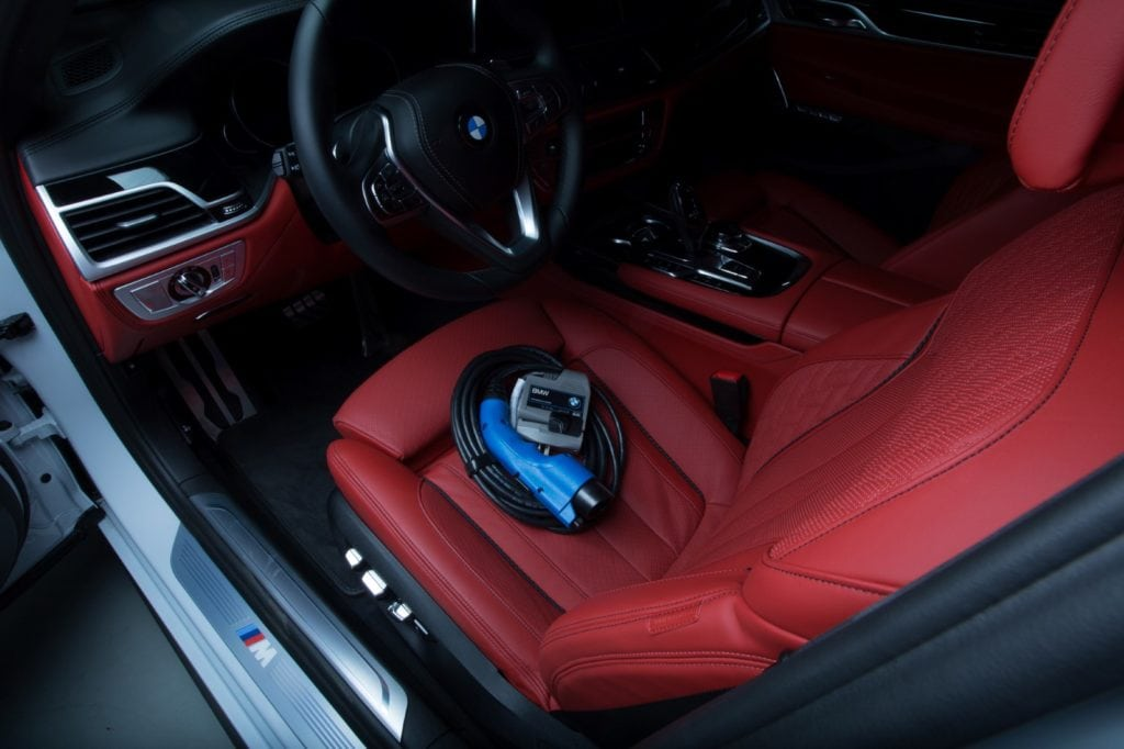 BMW TurboCordTM EV Charger SEMA 2017