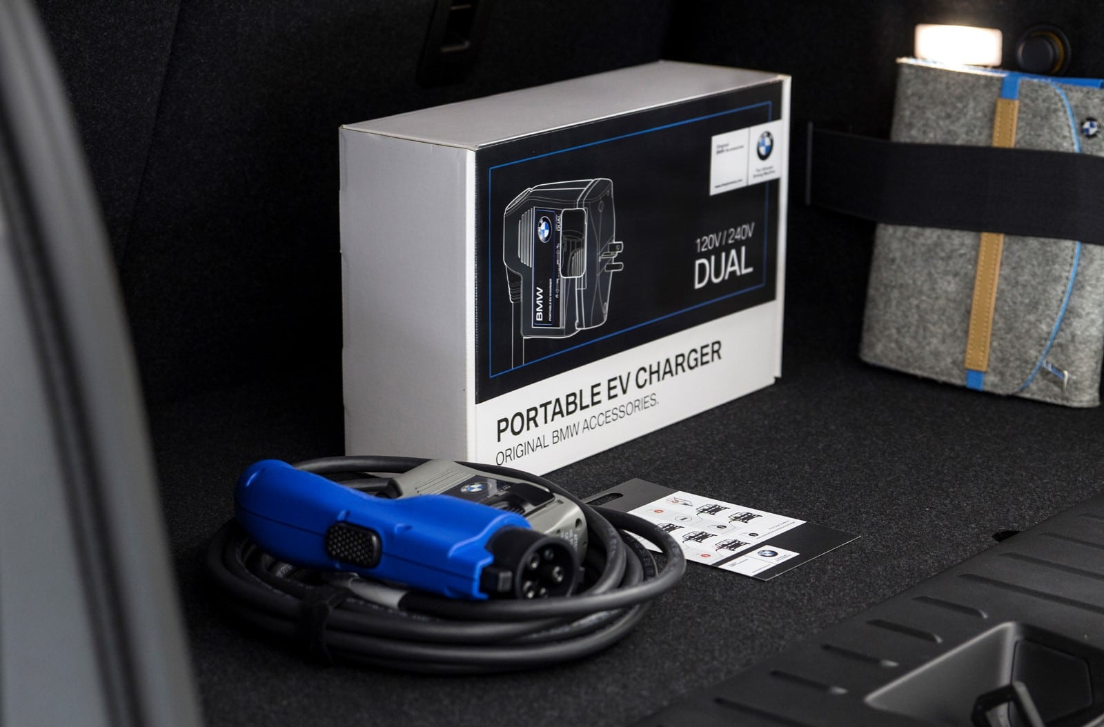 BMW TurboCordTM EV Charger SEMA 2017