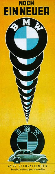 Винтажные плакаты BMW