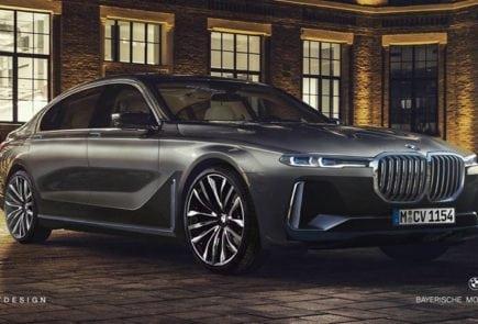 Фантазии на тему рестайлинга BMW 7 Серии в стиле нового BMW X7