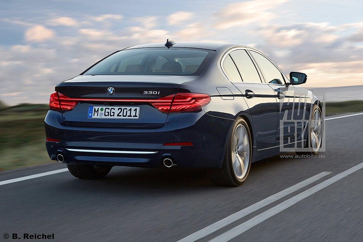 Исследуем рендеры BMW 3 Серии G20 2018