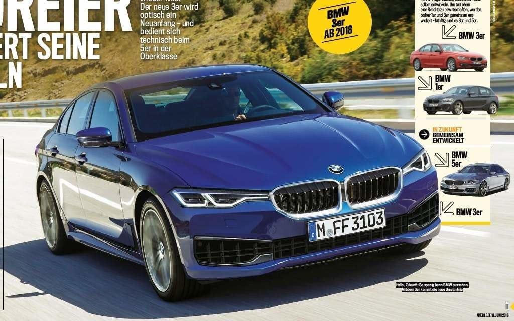 Исследуем рендеры BMW 3 Серии G20 2018: На «BMWBlog» акцентируют внимание на более тонких светодиодных фарах, агрессивном переднем бампере с большими воздухозаборниками и OLED задних фонарях.