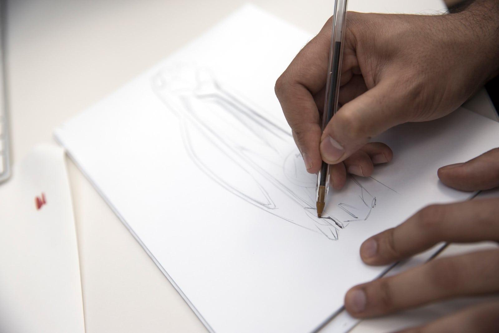 BMW 6 Series GT 2017 Design Sketches