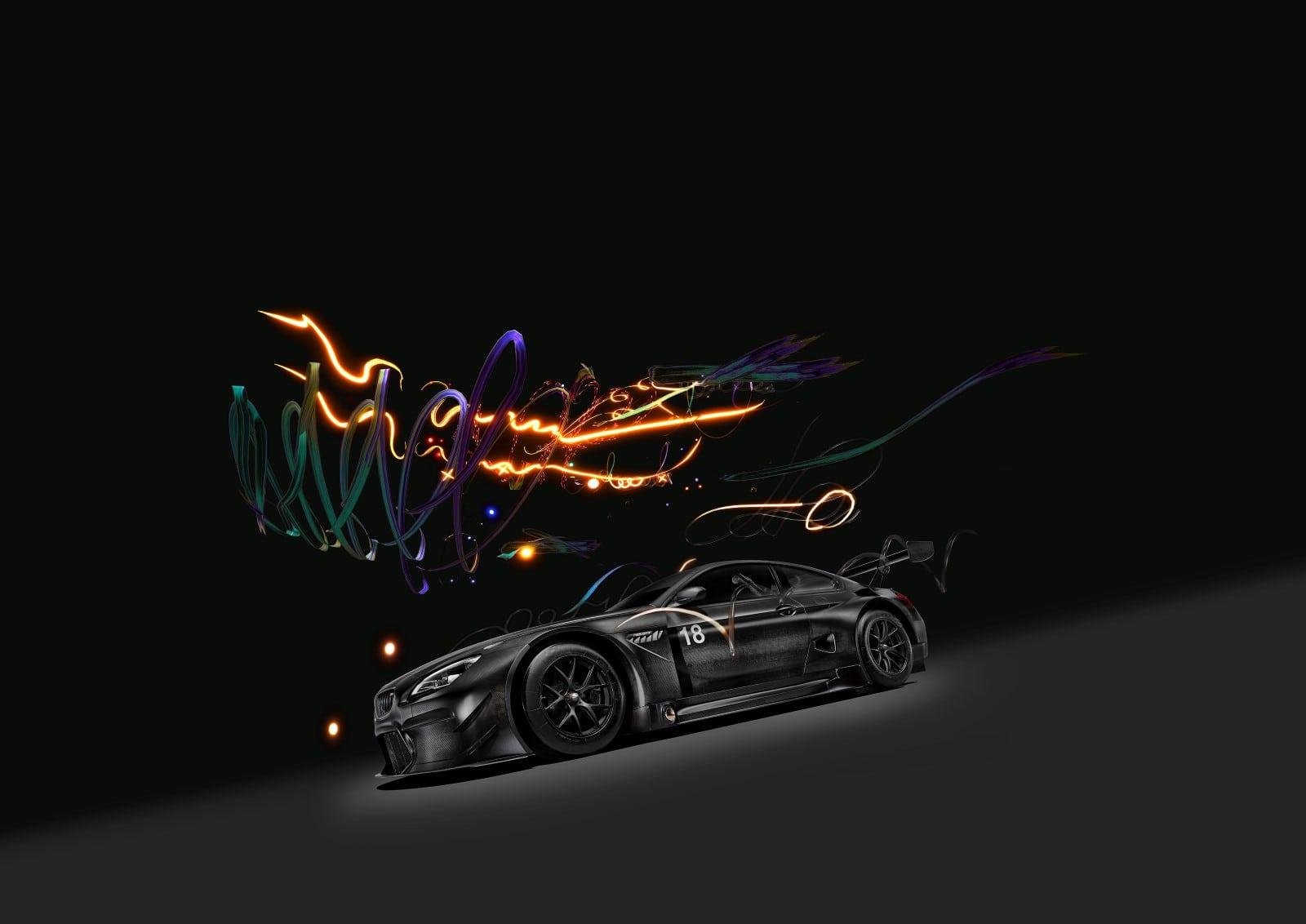 BMW M6 GT3 Art Car by Cao Fei