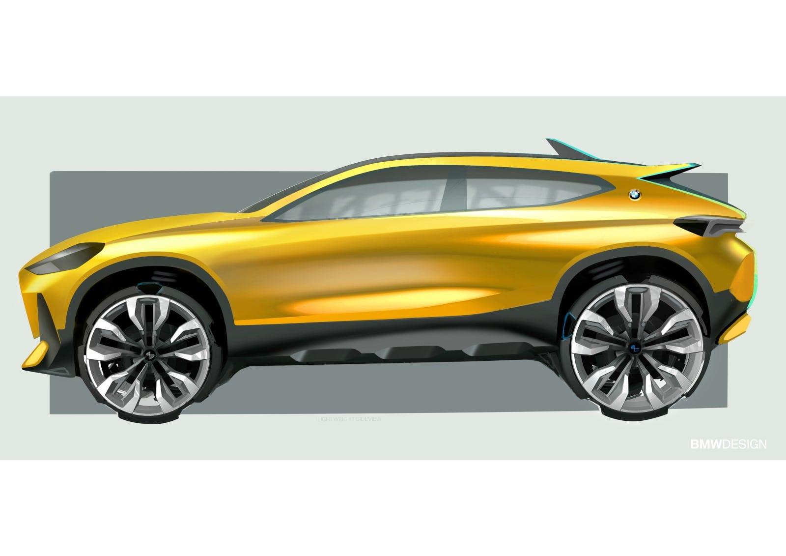BMW X2 2018 Design Sketches