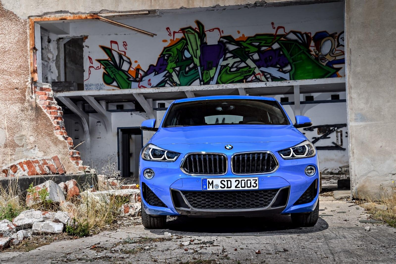 BMW X2 2018 Exterior Blue