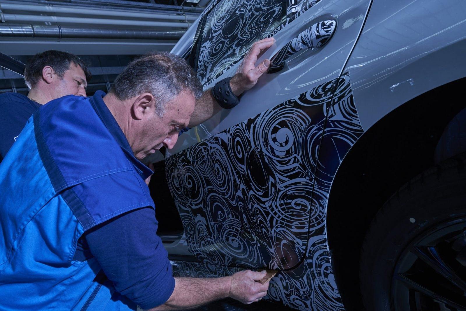 Как BMW готовит маскирует тестовые автомобили на примере BMW 3 G20 2019