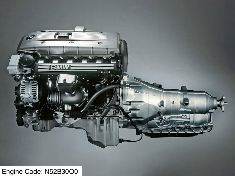 Двигатель BMW N52B30O0