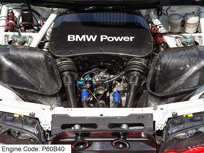Двигатель BMW P60B40