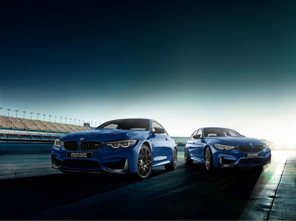BMW M3 и M4 Heat Edition - новые спецверсии для Японии