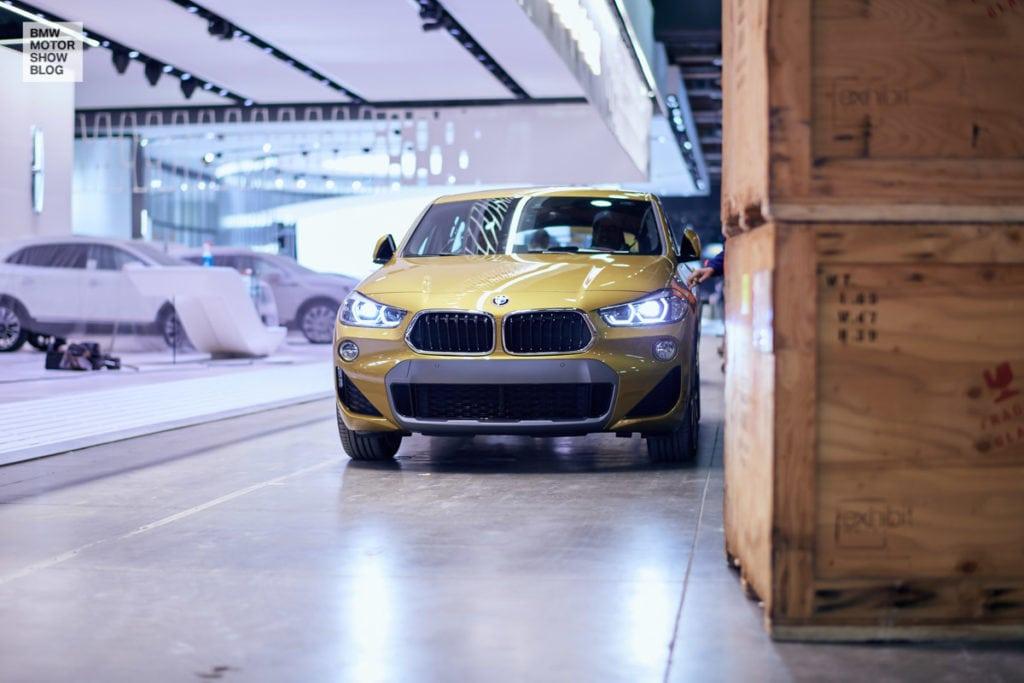 Эксклюзив: первые живые фото BMW X2 с NAIAS 2018 в Детройте