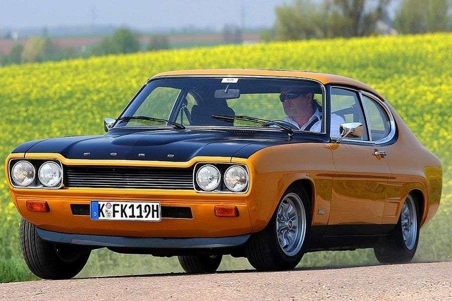 Ford Capri - дорожная версия