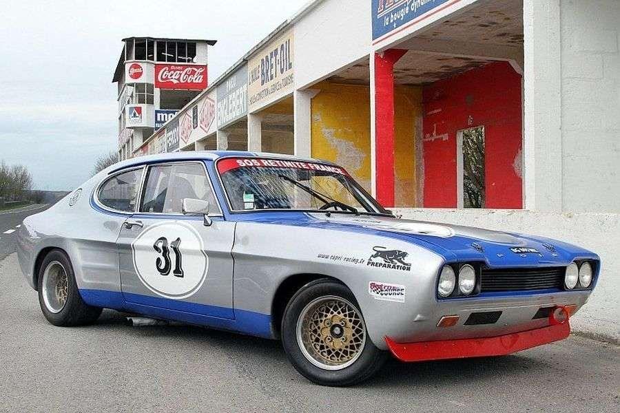 Capri RS2600, представленный в 1970 году.