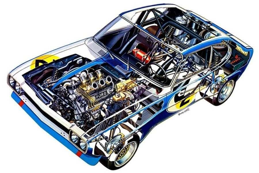 Двигатель V6 Weslake выдавал 320 л.с.