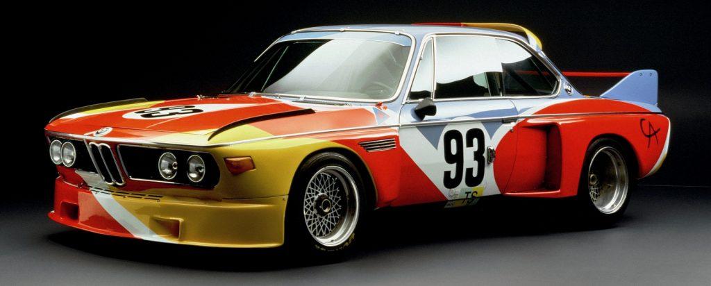 Студийный снимок арт-кара работы Колдера. Фото: BMW.