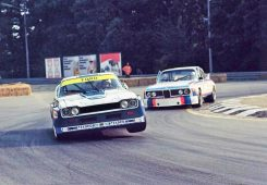 Legendary Ford Capri RS & BMW 3.0 CSL. Source: pinterest.com